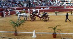 Clausura de la Feria Ganadera de Soria: Espectáculo ecuestre