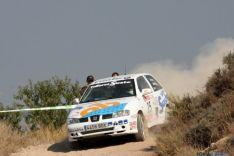 Agustín Álvaro en el Rallye Pla D'Urgell