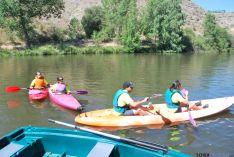 Foto 6 - El Duero se tiñe de colores con el descenso de canoas desde Garray