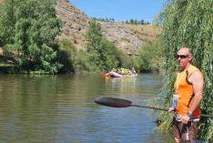 Foto 5 - El Duero se tiñe de colores con el descenso de canoas desde Garray