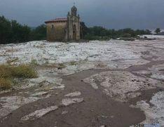 Granizada en Covaleda: el verano va quedando atrás