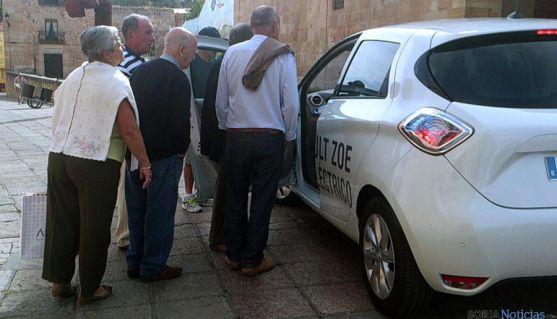 El los coches eléctricos causaron sensación