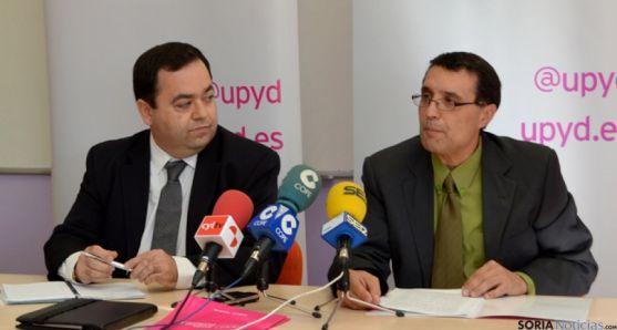 Rafael Delgado y Joaquín de la Cuesta