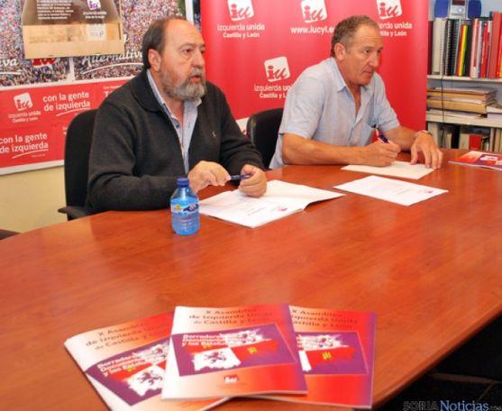 """IU busca formar un bloque con quienes están """"más a la izquierda del PSOE"""""""