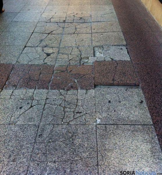 El PP denuncia el deterioro de la ciudad