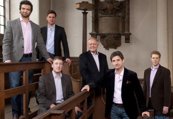 Los reyes de la música a capella, 'The King's Singers', llegan al Otoño Musical este martes