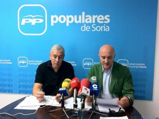 Alberto Rodríguez y José Pedro Gómez Cobo