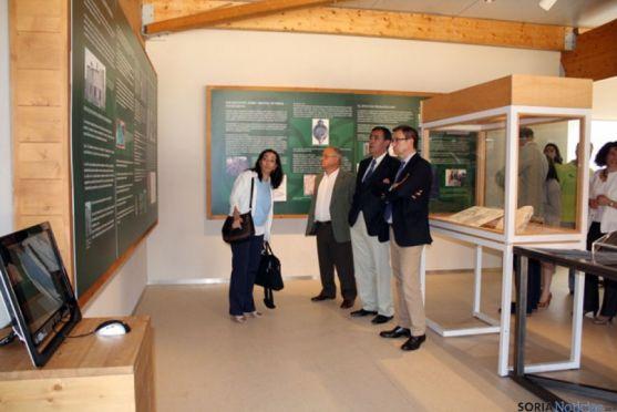 Cuevas de Soria. Exposición sobre epigrafías