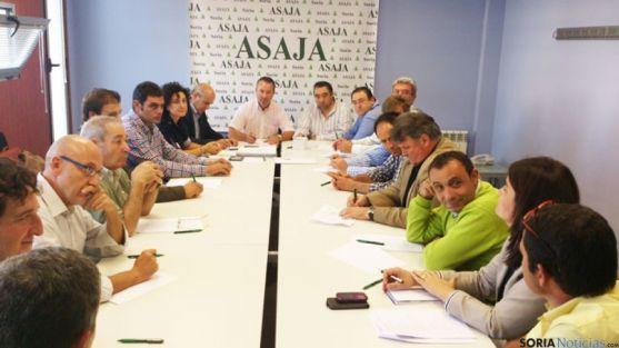 Directiva regional de ASAJA en Soria