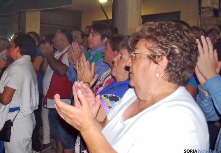 Almazán 'retumba' en la Bajada de Jesús