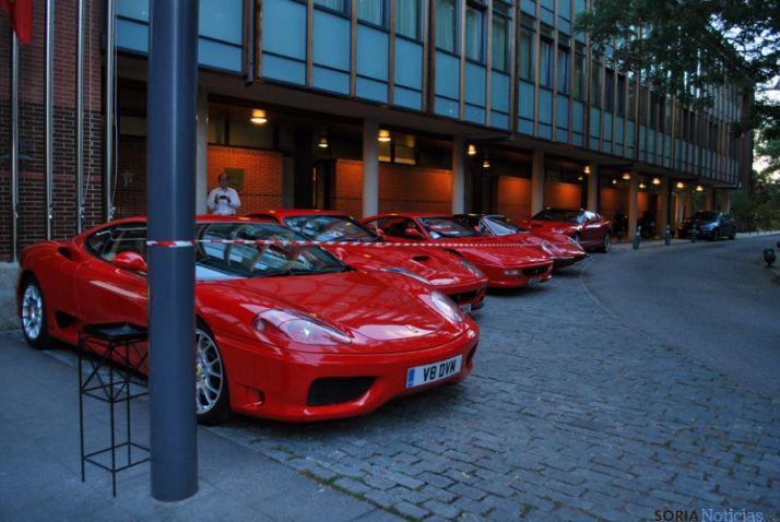 Ferraris en el Parador