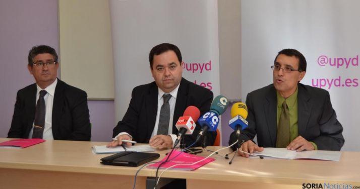 "Para UPyD, las empresas sorianas están ""penalizadas"" por faltar vías de comunicación"