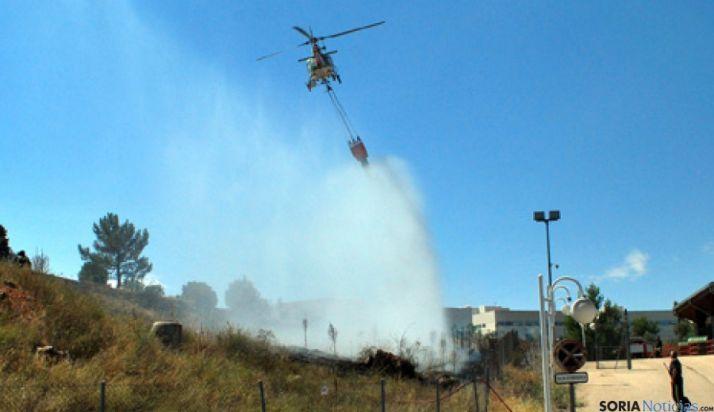 La región, la segunda en intervenciones del MAGRAMA por incendios forestales