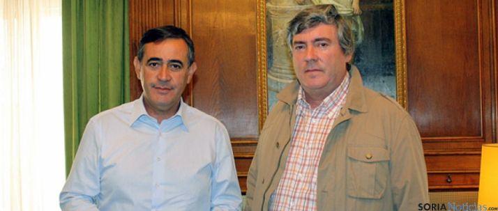 Navaleno busca apoyos en la Diputación para obrar en la antigua residencia de la 3ª edad