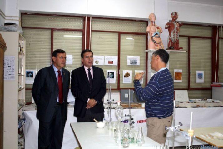 Visita colegio El Burgo