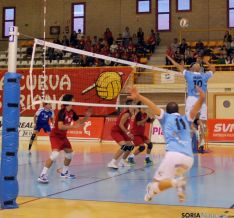 Los sorianos se impusieron por un 3-1 frente a los gallegos.