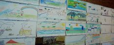 Algunos de los trabajos presentados.