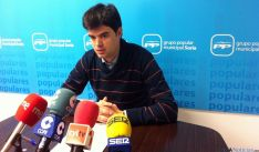 El concejal del PP Javier Sanz.