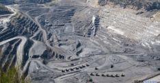 Imagen de la explotación minera donde se ha producido el fatal accidente.