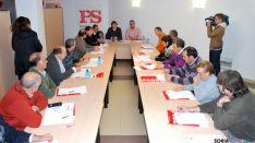 Reunión de alcaldes y concejales socialistas este miércoles.