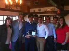 Foto 3 - Las Peñas Taurinas de Soria entregan sus premios con el ganadero Adolfo Martín como protagonista