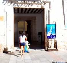 Oficina de turismo del Burgo de Osma.