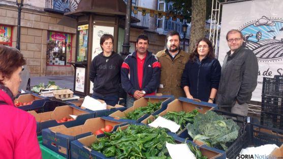 Huertos de Soria aumentará a una hectárea sus cultivos ecológicos