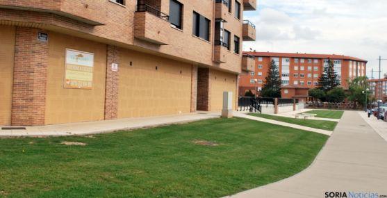 Bajos del edificio donde se establecerá el CES