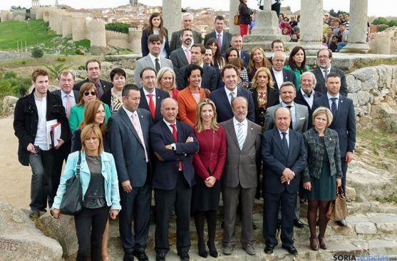 Reunión en Ávila para el itinerario teresiano.