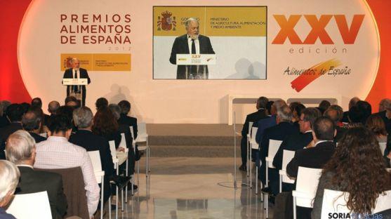 Celebración de los XXV Premios Alimentos de España