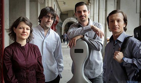 El cuarteto Ensemble Praeterium actuará a beneficio de UNICEFF