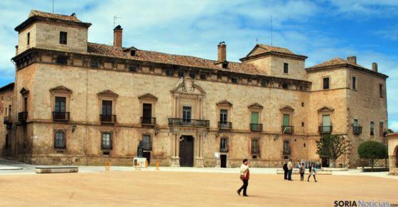 Palacio de los Hurtado de Mendoza, en Almazán.