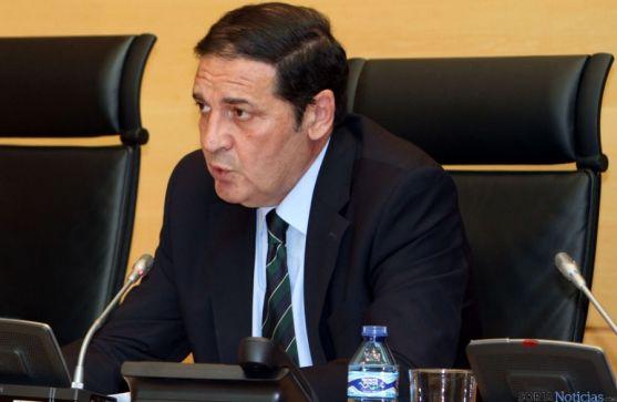 El consejero, Antonio María Sáez Aguado.