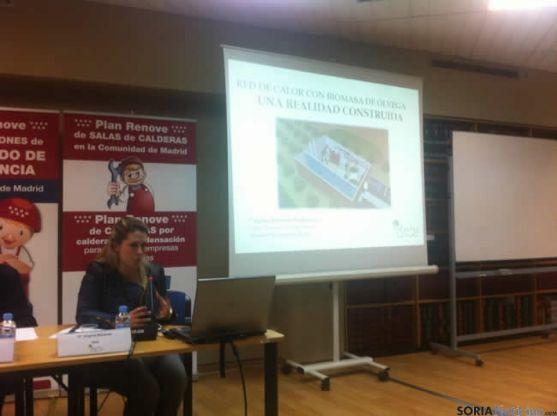 Virginia Borondo en las jornadas de Madrid