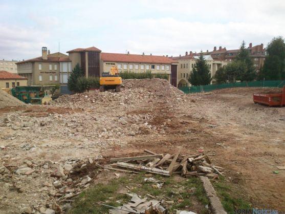 Demolición de la barriada del Castilla