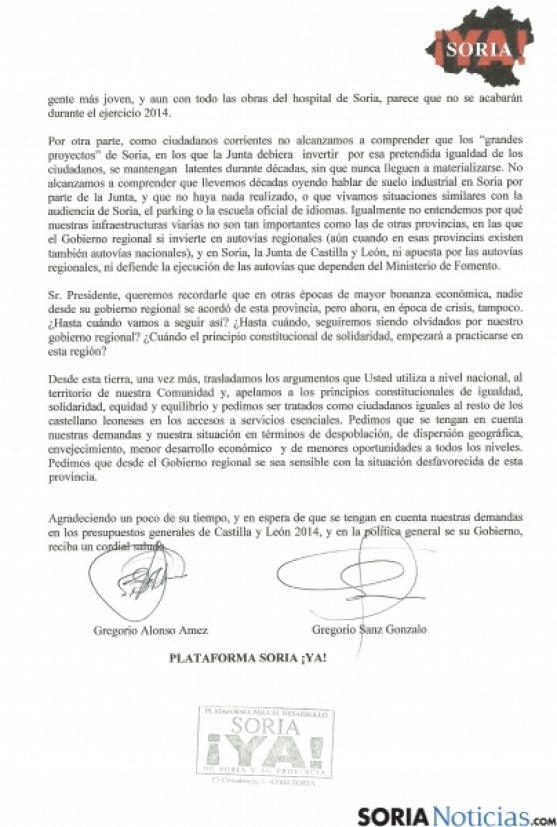 Carta de Soria Ya a Herrera (2)