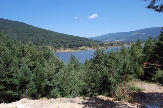 Vista del pantano desde la Fuente El Salobral