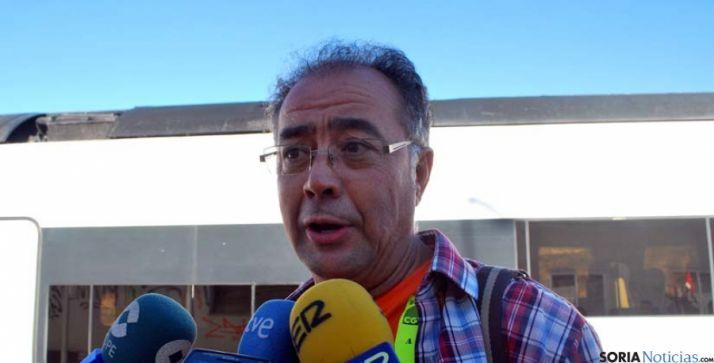 """""""No hay nada para Soria en materia de ferrocarril dentro de los PGE"""""""