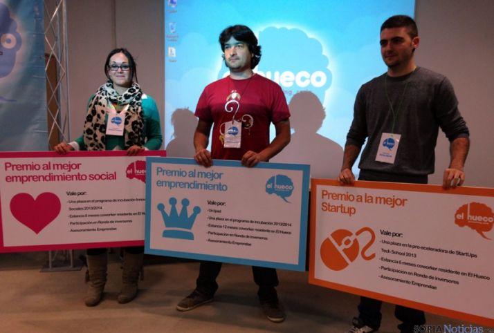Los tres finalistas de El Hueco Starter 2013