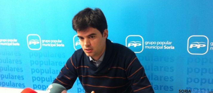 El edil popular Javier Sanz