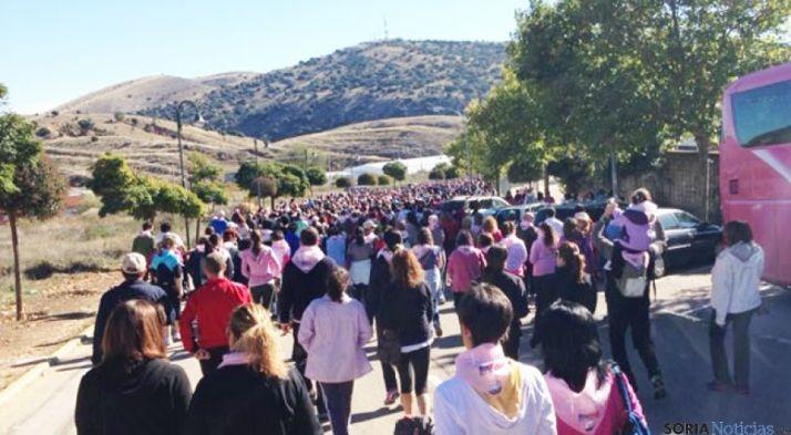 I Marcha Camino del Agua contra el cáncer