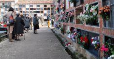 Los sorianos acuden en masa a los cementerios de la provincia. / SN