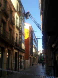 Intervención de los bomberos
