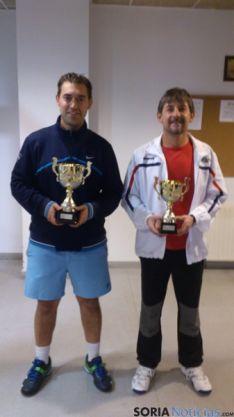 Finalistas del torneo de tenis