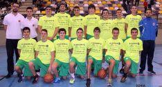 Plantilla junior del FDR de baloncesto.