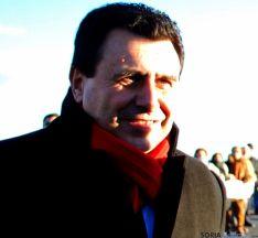 Félix Lavilla este viernes en la A-15.