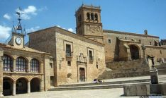 El museo está en la bella plaza de Morón de Almazán.