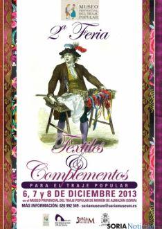 Cartel de la Feria de Textiles