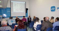 Reunión del PP con la Asociación  vecinal de Los Pajaritos