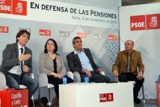 Mínguez, Romero, Villarrubia y Núñez